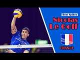 TOP 10  Volleyball Spikes - Nicolas Le Goff (FRA)