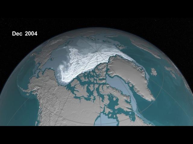 Исчезновение ледников, 20 лет за 2 минуты