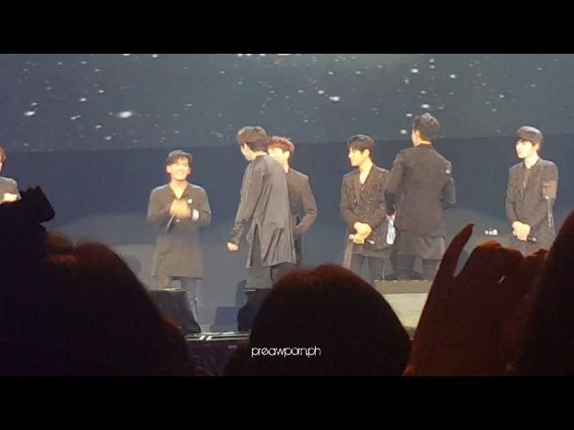 180217 infinite - dongwoo sexy dance (in BKK)