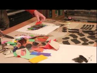 The making of 'Stratford': Albert Irvin and Bob Saich at Advanced Graphics London