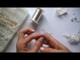 Wedding Hair Accessories Cвадебная шпилька из ювелирной проволоки.
