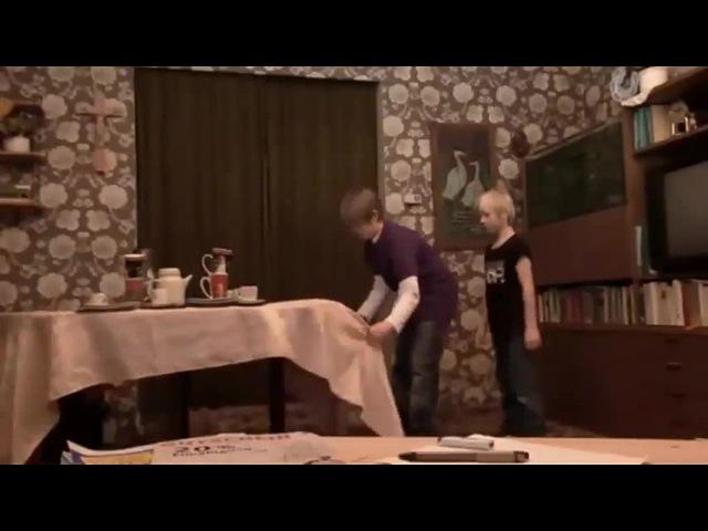 Michel Sven - Der Tischdeckentrick - Teil 4 / The Table Cloth Magic Trick (Original)