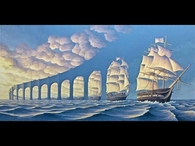 Мастер иллюзий художник из Канады Роб Гонсалвес (Rob Gonsalves)