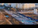 Быть ШУМАХЕРОМ в Кингисеппе опасно! В сети появилось видео ТАРАНА с веб-камеры K...