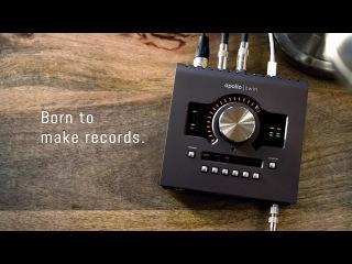 Born to make records. Meet the new Apollo Twin MkII.