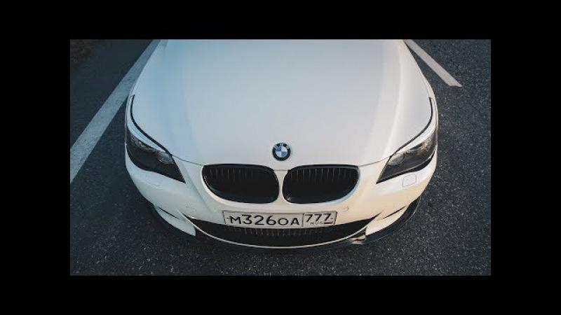 BMW M5 - 10я серия. Коробка не хочет дальше жить.