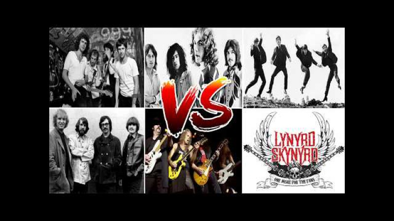 Led Zeppelin,Dire Straits,The Beatles,CCR,Lynyrd Skynyr Greatest Hits - Best Rock Songs Of All Time