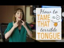 Singing exercises to release tongue tension - Tame that terrible tongue