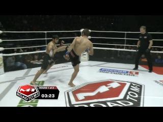 Хаджимурад Алиев vs Аслан Боголов, Road to M-1