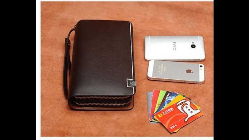 Мужской кошелек, клатч, бумажник, барсетка, портмоне .