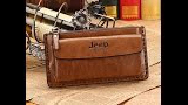 Мужские портмоне Jeep, клатч, бумажники, барсетка, кошелек .