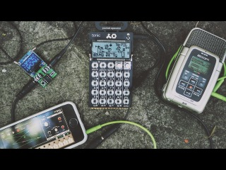 Mobile Electro Jam At Graveyard Feat. PO-32 Tonic + iPhone