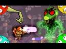 🐾 Встреча на планете зомби лунтиков. Пожарный против демонов # 4. Мультик ИГРА.