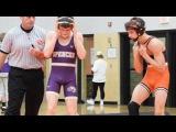 Noah Hughes-Reilley (WDM Valley) vs TJ Arnold (Spencer) - 120lbs