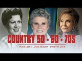 Best Female Country songs 50's,60's ,70's