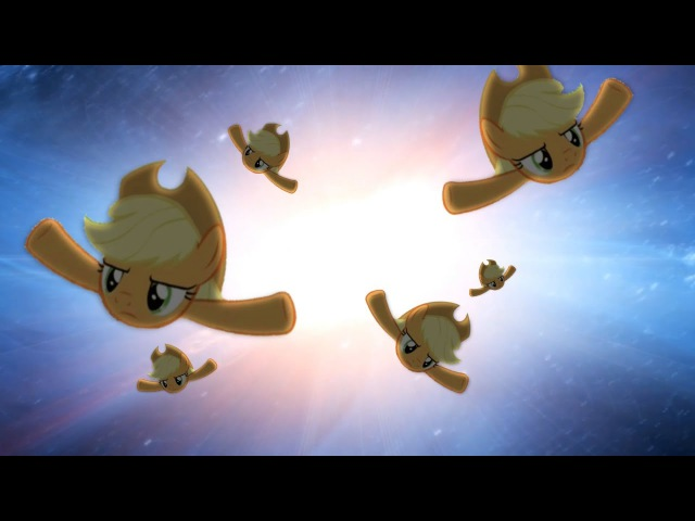 Applejack does an amazing flap (Shooting Stars)