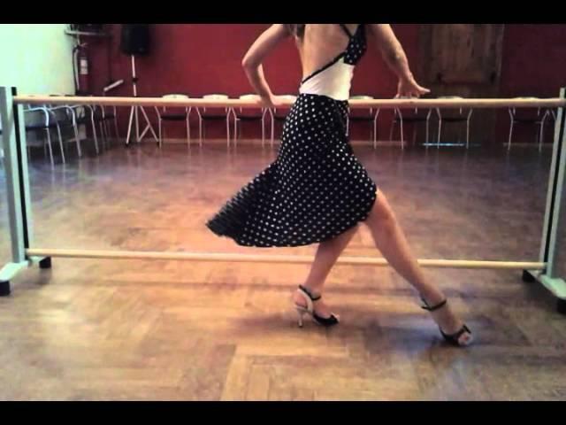 Dulce Cappiello Maestra Argentina de Tango