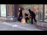 Blow Trio. Уличные музыканты / Street musicians