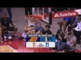 NBA Summer League. Josh ADAMS vs. Suns 9pts, 1ast, 1reb, 1 st.