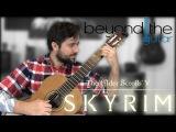 Skyrim Dragonborn - Main Title Theme Classical Guitar Cover