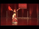 Melaina: ATS Movement Dialect with Flamenco Fan @ Oriental Dance Show 2016