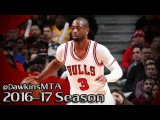 Dwyane Wade Full Highlights 2017.01.14 vs Pelicans - 22 Pts, 18 Pts in 4th Quarter!