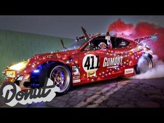 Santa Sleighs It : Ferrari Powered Toyota Santa Sled #GT4586