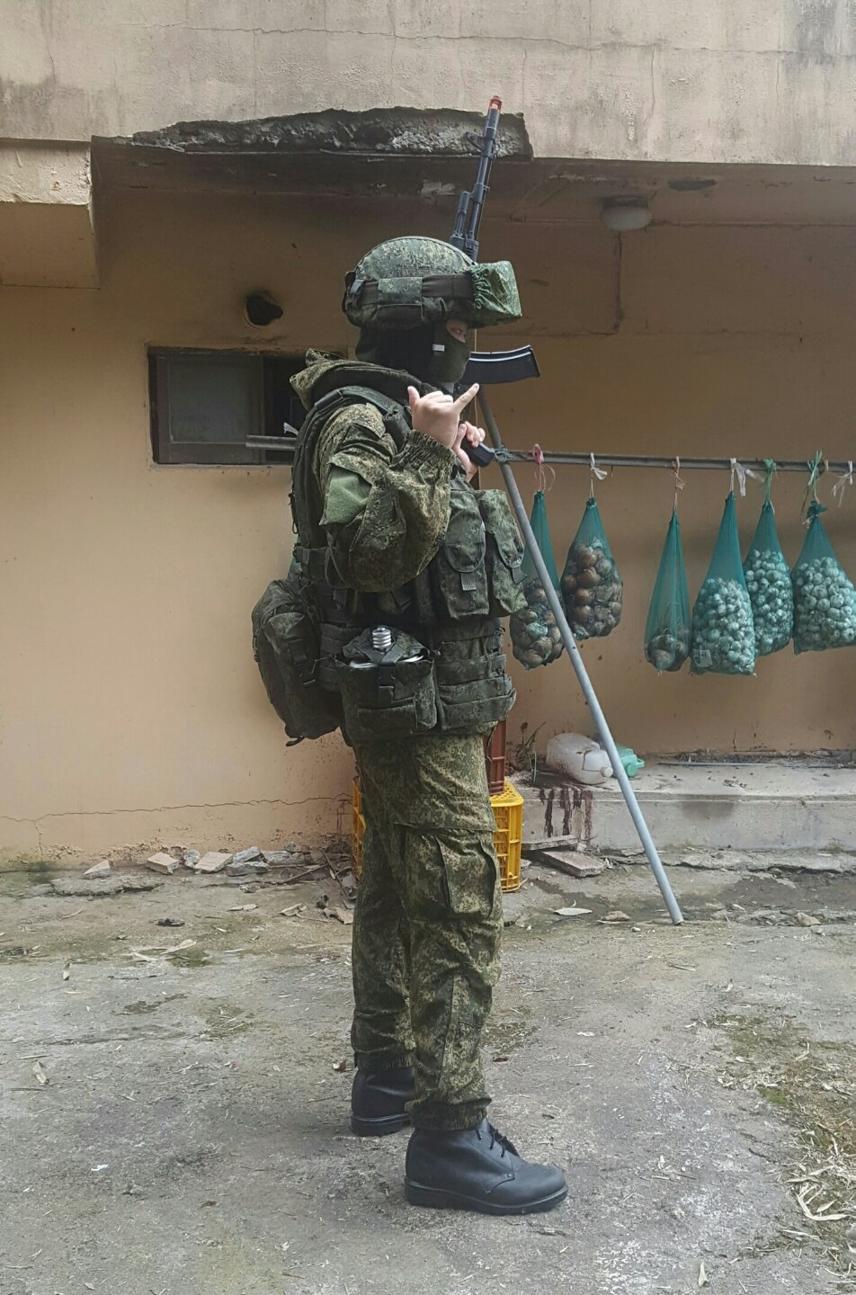 Russian ground force (Army,VDV) 2016 gears set up