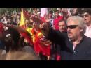 Мадрид, сегодня. Зигуют и поют гимн Франко. А вы говорите, что Украина не европейская страна! Стоило Европу немного поскрести и