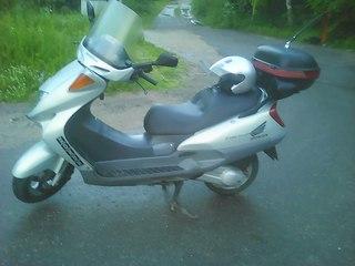 стартерный мотор на honda foresight 250cc
