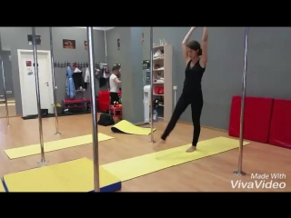 Зарисовка с занятия по акробатике :)