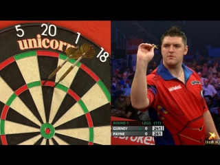 Daryl Gurney vs Josh Payne (PDC World Series of Darts Finals 2016 / Round 1)