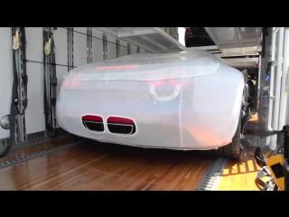 Как доставляется Bugatti Veyron L'Or Style Vitesse новому владельцу.