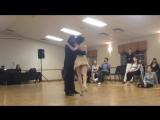 Tango on One Foot! Diana Cruz  Nick Jones Oct 2014
