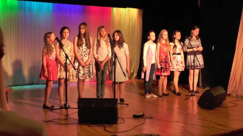 Отчётный концерт студии эстрадного вокала Причуда в Пашковском ГДК 14.05.2017