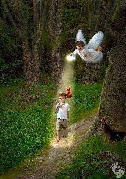 Ангел Хранитель - храни моих детей всегда