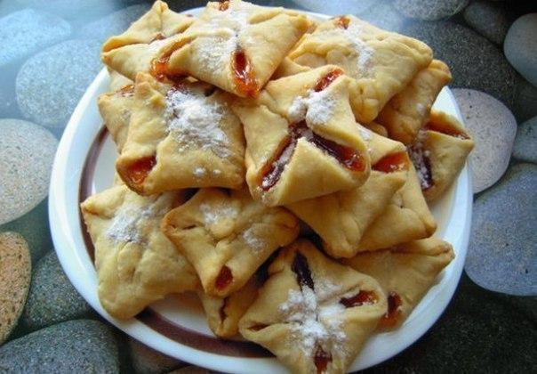 """""""Мамино печенье или печенье за 10 минут"""". Ингредиенты: -"""