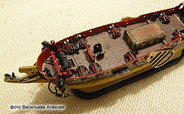 GOLDEN YACHT корабль в бутылке. Масштаб 1:300 HgaQ3-hvXbs