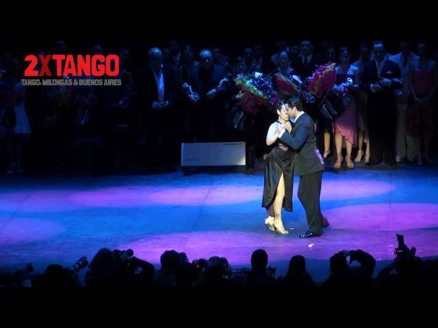 Campeones Mundial de Tango 2012. Categoria Salon. Facundo de la Cruz Gómez Palavecino y Paola Florencia Sanz