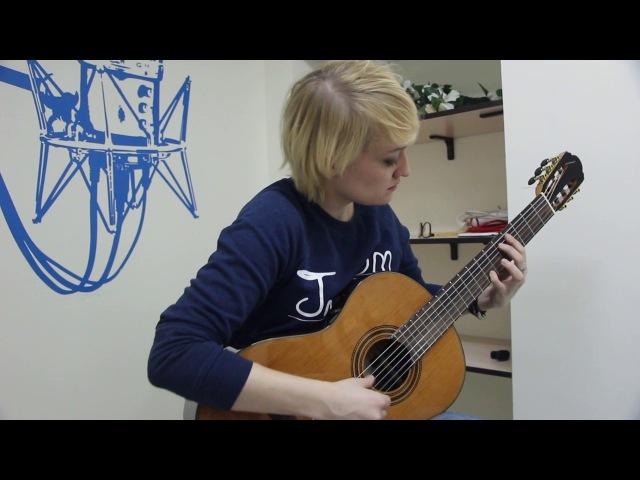 Екатерина Самкова – преподаватель гитары в MUSICLIFE