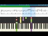 Maria Group В комнате цветных пелерин (Synthesia, Piano+ноты)