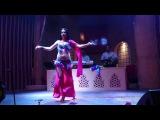 Belly dancer Nigora (Haifa) live tabla Fadi
