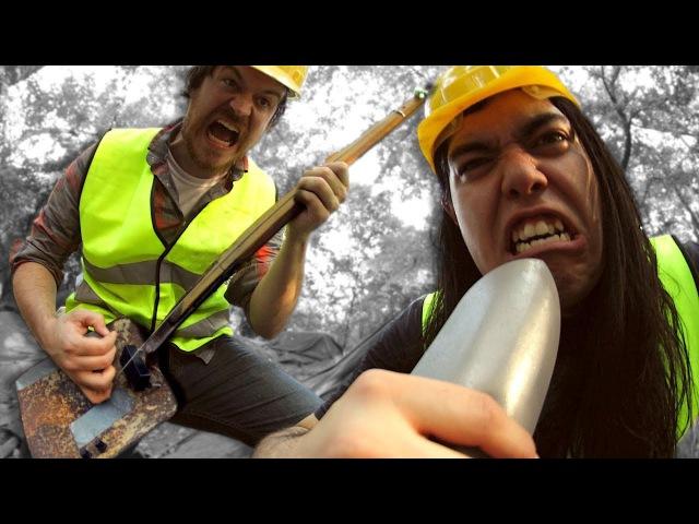 Meshuggah Rational Gaze Shovel cover