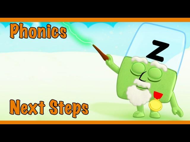 Meet The Alphablocks - Zapping Z (Orange Level Step 7)