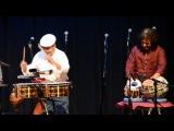 Benefit for Giovanni Hidalgo &amp  Zakir Hussain Percussion Dialogue