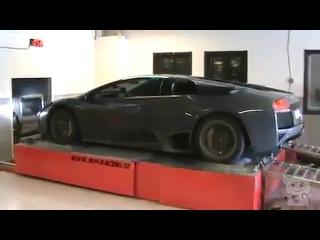 Супер автомобиль. Lamborghini Murcielago. Тестирование. Зверь. (Железяки №19)