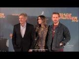 Harrison Ford, Ryan Gosling y Ana de Armas en Madrid presentando BLADE RUNNER