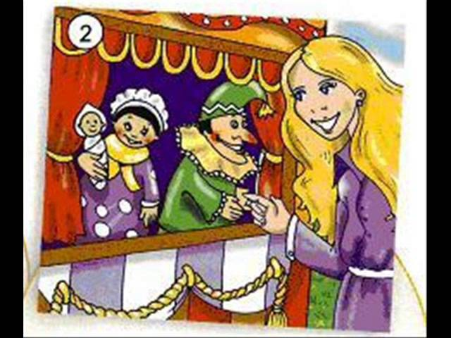 English for children. Spotlight 2. Page 20 ex 1- Punch and Judy - reading