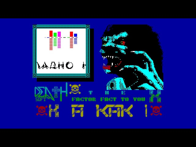 X Factor Kilodemo, The - Dr.Death [zx spectrum]