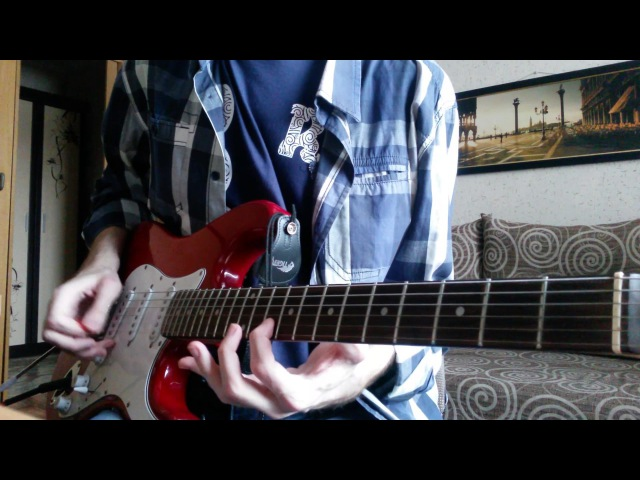 Muse Plug in baby Guitar cover